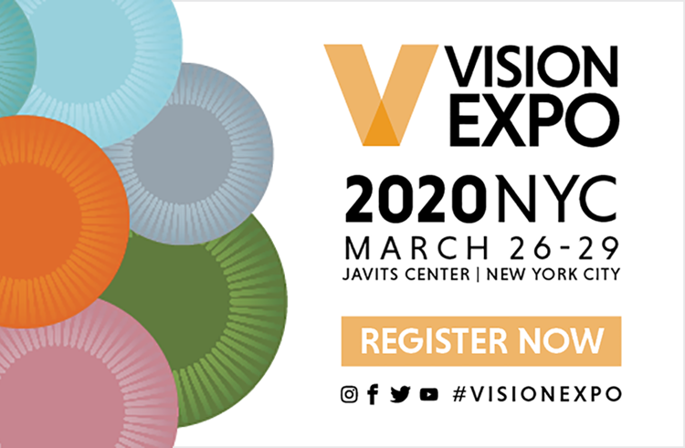 Vision Expo 2020 Banner Ad Mobile
